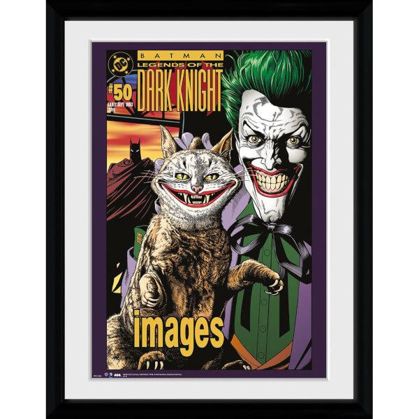 DC Comics Batman Comic The Joker Cat - 30x40 Collector Prints