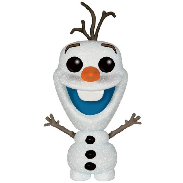 Frozen Glitter Olaf Snowman Pop! Vinyl Figure - EE Exclusive