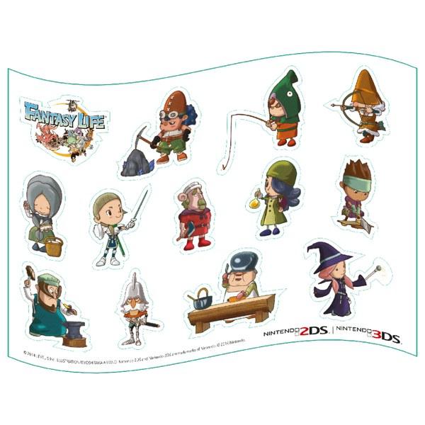 Fantasy Life Magnet Sheet