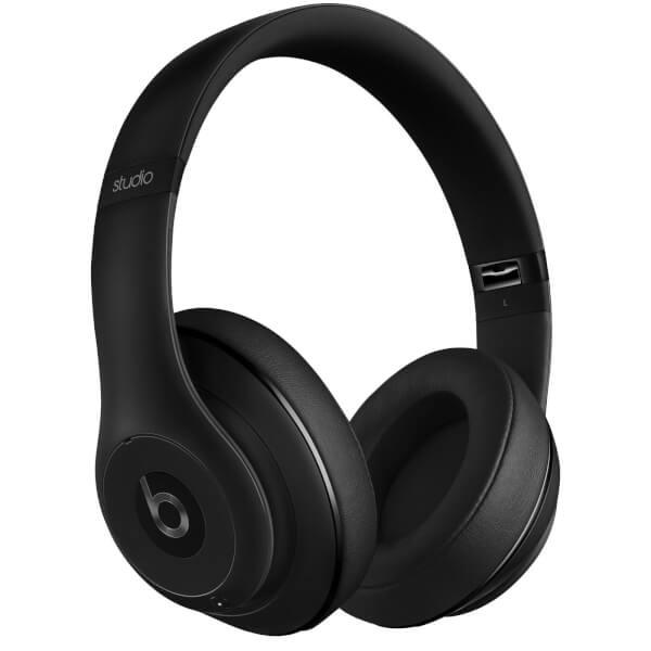 Casque Beats By Dr. Dre: Studio 2.0 Suppresseur de Bruit Sans Fil - Noir Mat - Reconditionné Apple