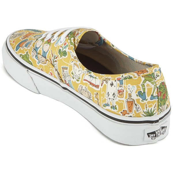 32f8355e39 Vans Women s Authentic Liberty Trainers - Wonderland True White  Image 5