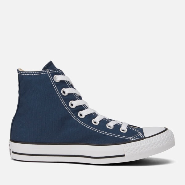 Converse Unisex Chuck Taylor All Star Canvas Hi-Top Trainers - Navy  Image 1 5a5653bf6