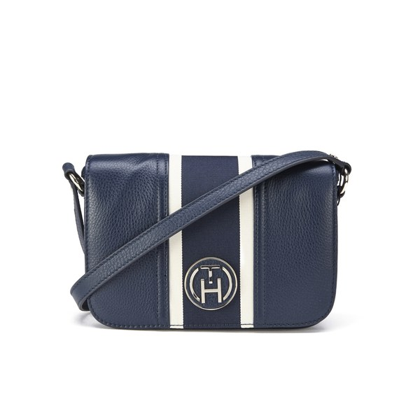 Tommy Hilfiger Claire Flap Cross Body Bag - Midnight Womens ... 5d50438613dac