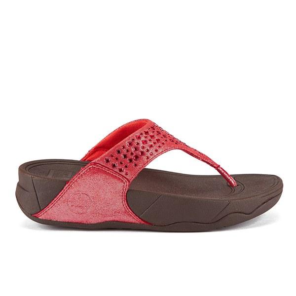 77c7e1679 FitFlop Women s Novy Toe Post Sandals - Flame