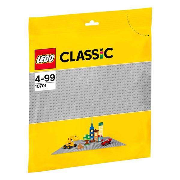 LEGO Classic: Grey Baseplate (10701)