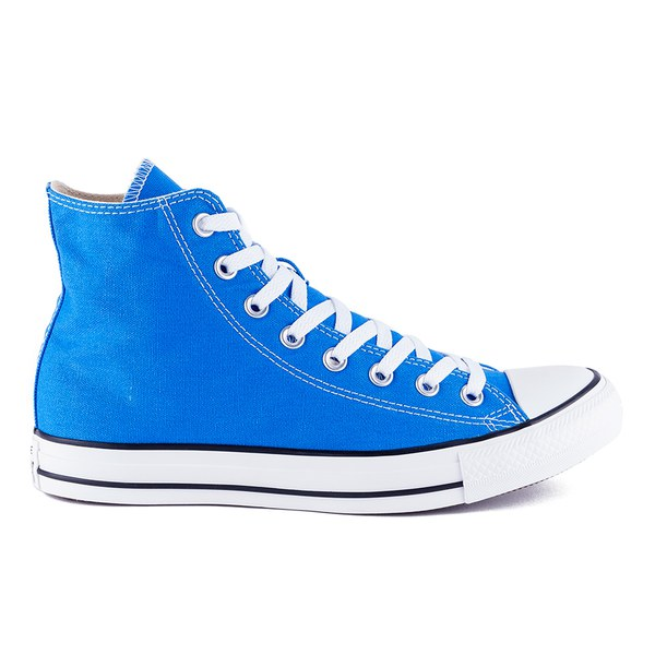 Converse Unisex Chuck Taylor All Star Canvas Hi-Top Trainers - Light Sapphire