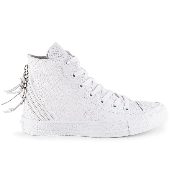 Converse All Star Tri Zip Trainers White