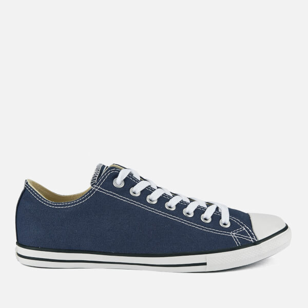 1911f6c2f5f Converse Men s Chuck Taylor All Star Lean OX Trainers - Navy  Image 1