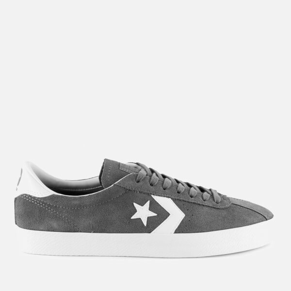 Converse Mens Breakpoint Ox White Black Leather Trainers 46.5 EU cxDoN5y