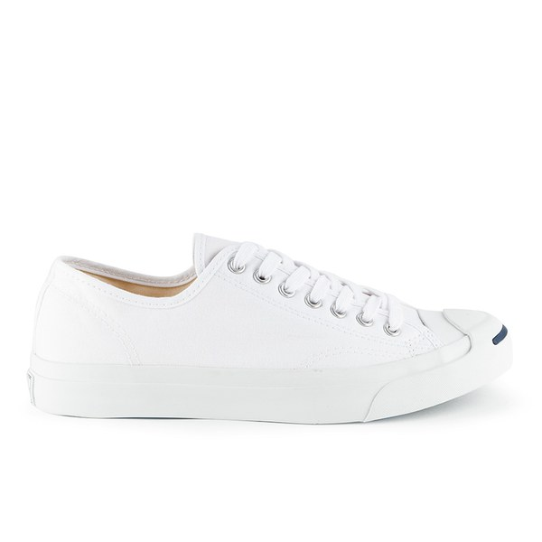 Converse Jack Purcell LTT Canvas Trainers - White: Image 1