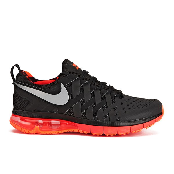 de157f426073 Nike Men s Fingertrap Max NRG Training Shoes - Black Dark Grey Metallic   Image 1