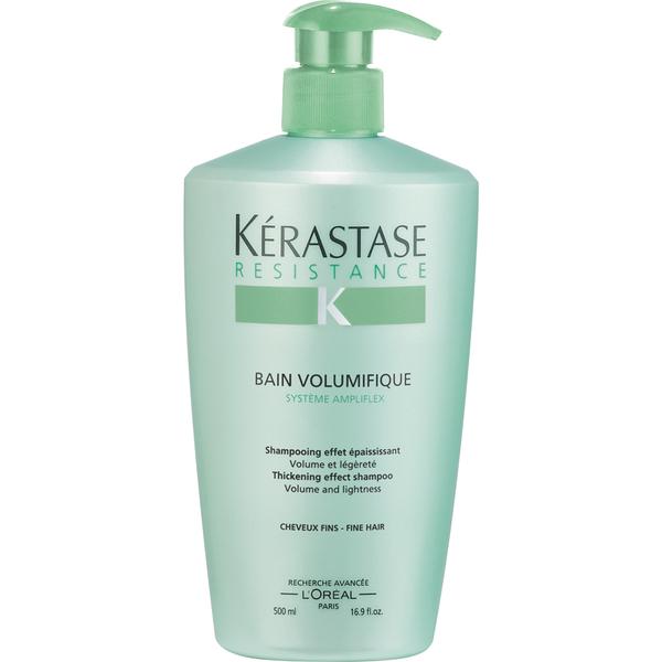 K rastase resistance bain volumifique shampoo 500ml for Kerastase bain miroir shine revealing shampoo