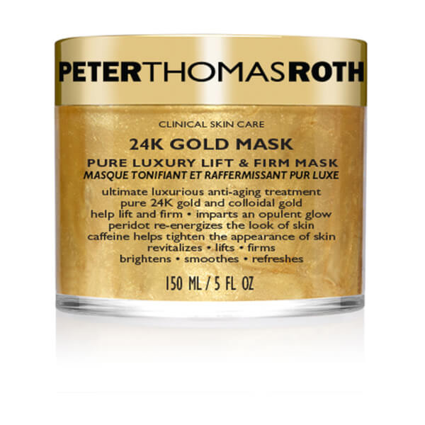 Peter Thomas Rith 24K Gold masque d'or