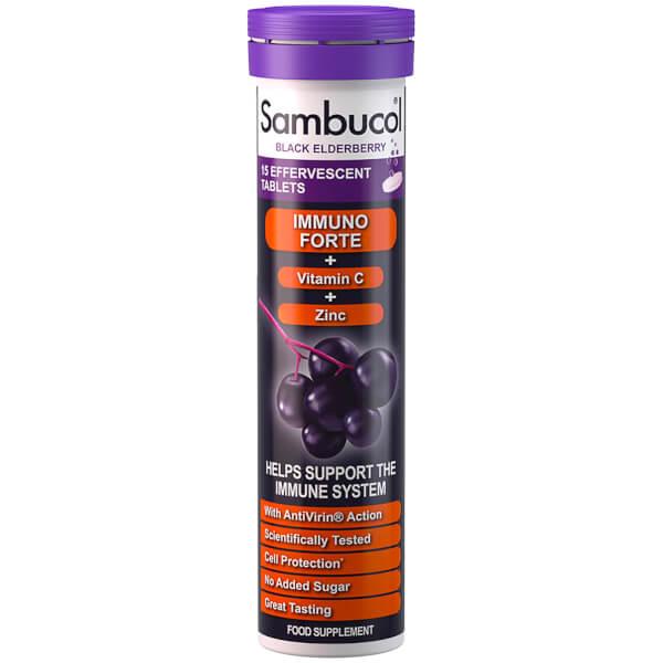Sambucol Effervescent Immuno Forte (15 Tablets)