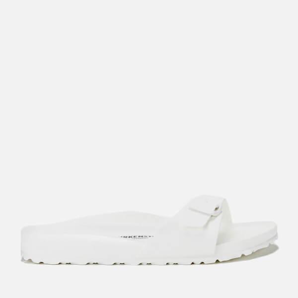 19dcbef1a7d0 Birkenstock Women s Madrid EVA Single Strap Sandals - White  Image 1