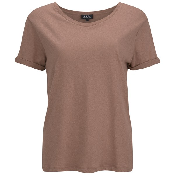 A.P.C. Women's Chic T-Shirt - Old Rose