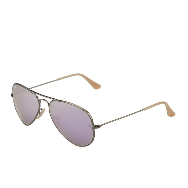 Ray Ban Aviator Large Metal Sunglasses Demiglos Brushed