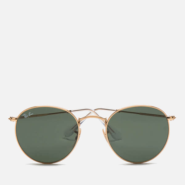 f5b0f3d584 Ray-Ban Round Metal Sunglasses - Arista Crystal Green - 50mm  Image 1