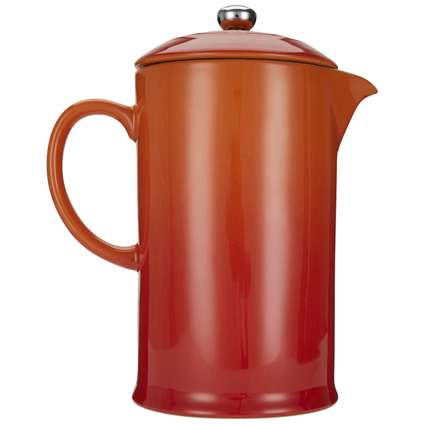 Le Creuset Stoneware Cafetiere Coffee Press Volcanic Image 5