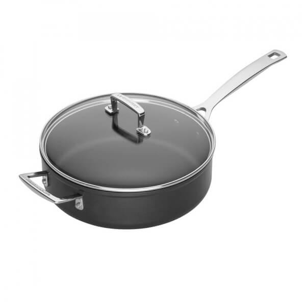 Le Creuset Toughened Non-Stick Saute Pan with Lid - 26cm
