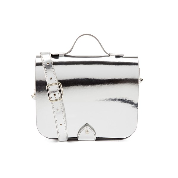 YMC Women's Small Satchel Bag - Silver