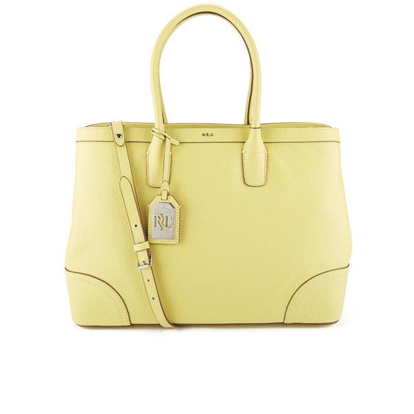 ab3174795150 Lauren Ralph Lauren Women s Fairfield City Tote Bag - Yellow Lemon Chiffon   Image 1