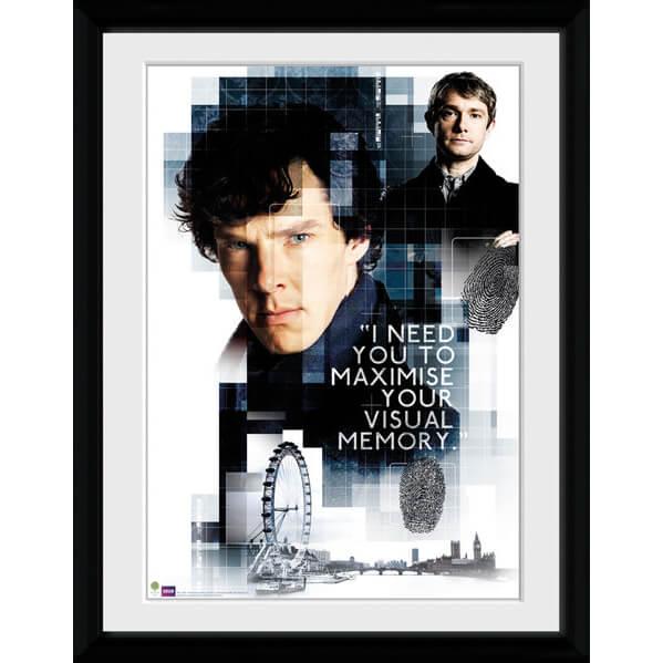 Sherlock Memory - 16x12 Framed Photographic