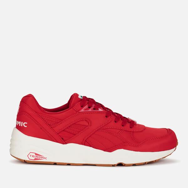 Puma Men's R698 Nylon Trainers - Red/White