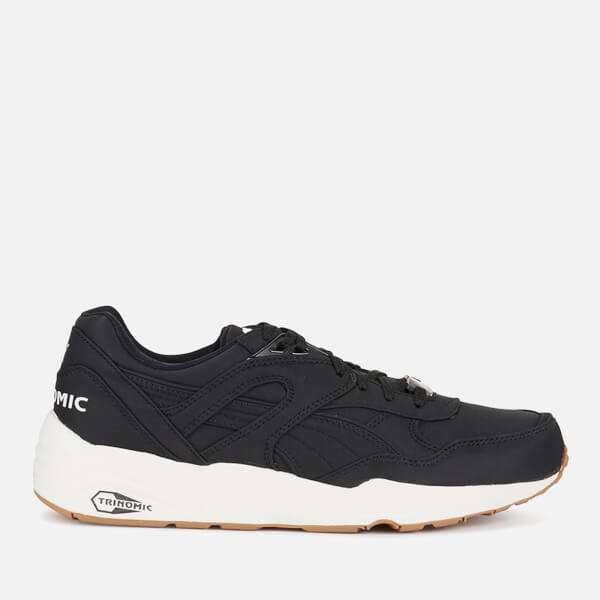 Puma Men's R698 Nylon Trainers - Black/White