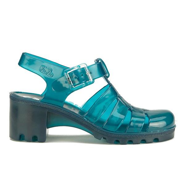 JuJu Women's Babe Heeled Jelly Sandals - Turmaline