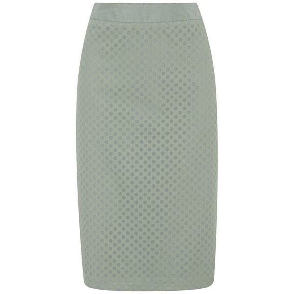 Custommade Women's Chia Skirt - Jadite Green