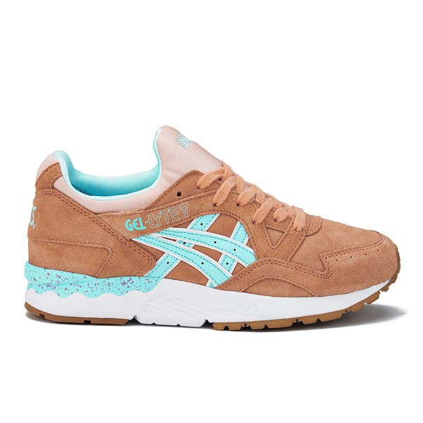 07755f514206 Asics Lifestyle Women s Gel-Lyte V Trainers - Coral Reef Clear Water ...