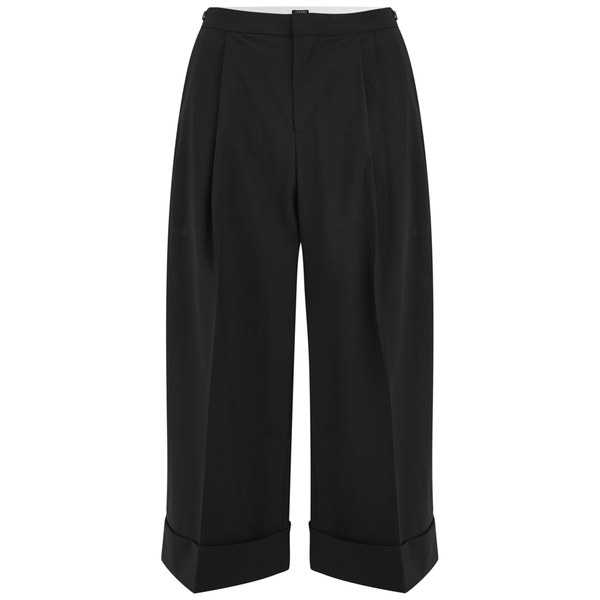 2NDDAY Women's Cecilie Culotte Suiting Trousers - Black