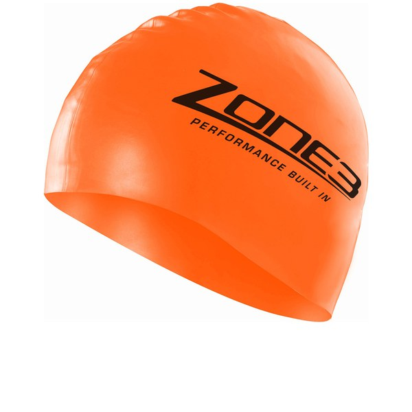 Zone3 Silicone Cap - Orange   ProBikeKit UK