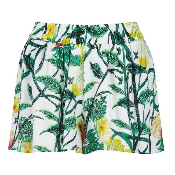 VILA Women's Fauna Shorts - Snow White