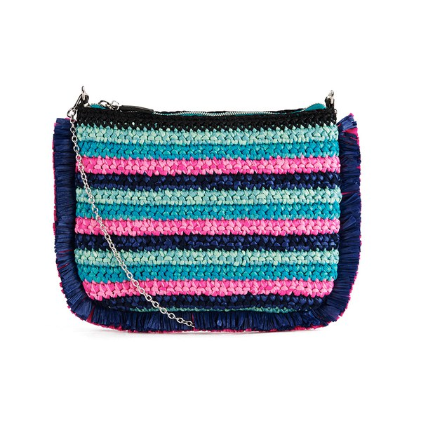 M Missoni Women's Lurex Clutch Bag - Turquoise