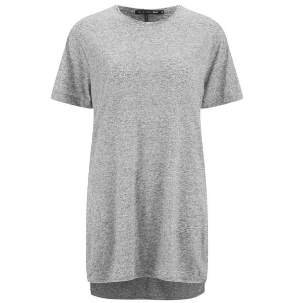 rag & bone Women's Hollins T-Shirt - Heather Grey