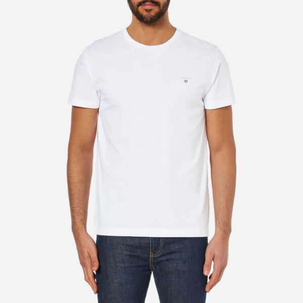 GANT Men's The Original T-Shirt - White