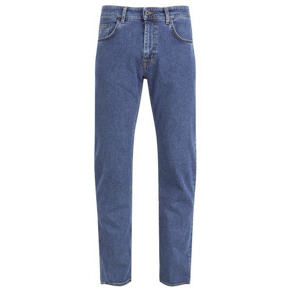 Slim Classic Denim Jeans - Mid Blue Worn In GANT ZiVFZ
