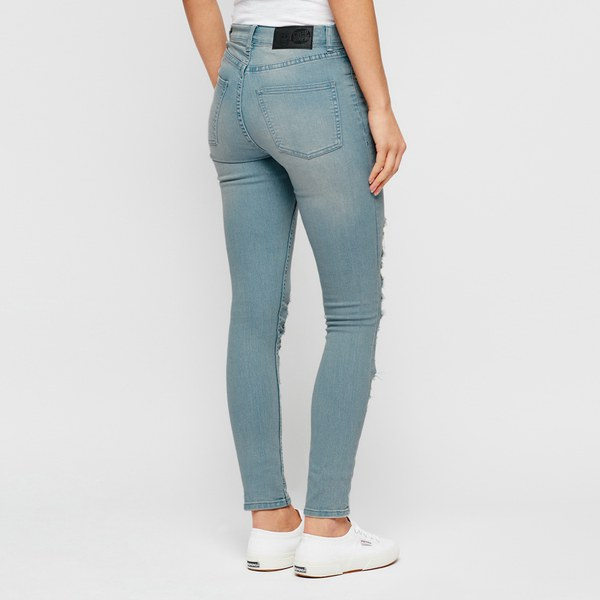 Cheap Monday Women's 'Second Skin' High Waisted Skinny Jeans ...