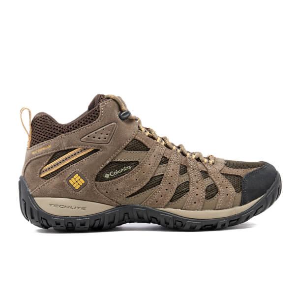 Columbia Men's Redmond Mid Waterproof Hiking Boots - Brown/Banana
