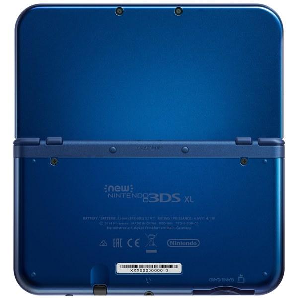 new nintendo 3ds xl metallic blue nintendo official uk store. Black Bedroom Furniture Sets. Home Design Ideas