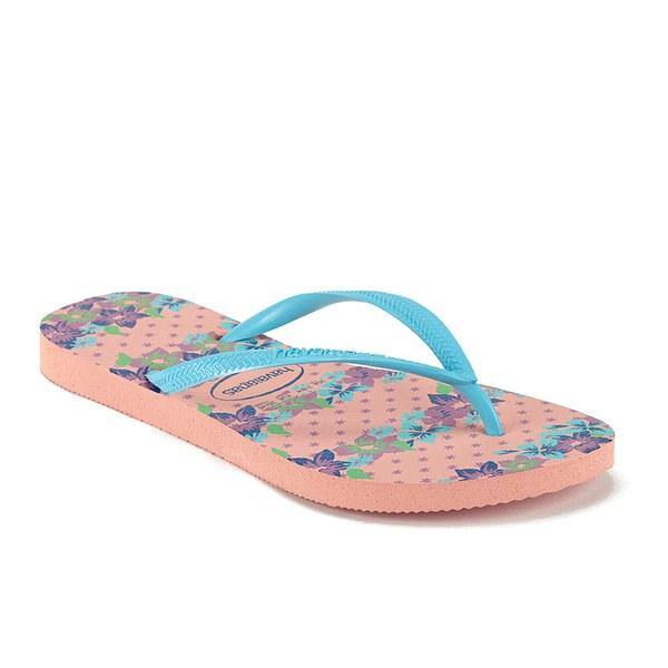 e44901e677eb34 Havaianas Women s Slim Provence Flip Flops - Light Pink Womens ...