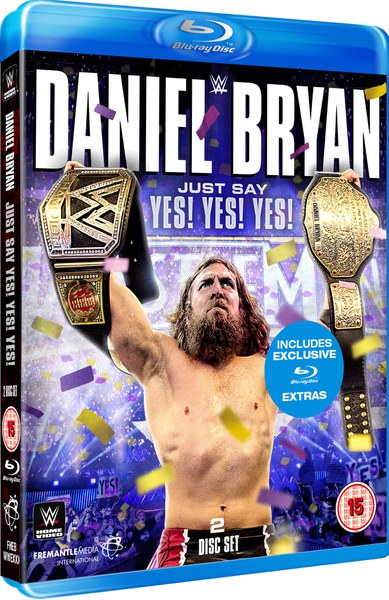 WWE: Daniel Bryan - Just Say Yes! Yes! Yes! Blu-ray | Zavvi