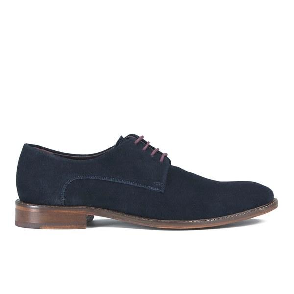 b8ef1ec4461e Ted Baker Men s Joehal Suede Derby Shoes - Dark Blue  Image 1