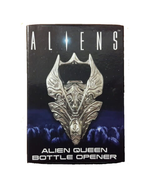 Aliens Queen Skull Metal Bottle Opener