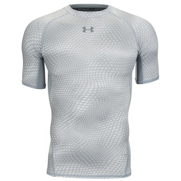 Under armour men 39 s armour heat gear printed short sleeve for Under armour printed t shirts