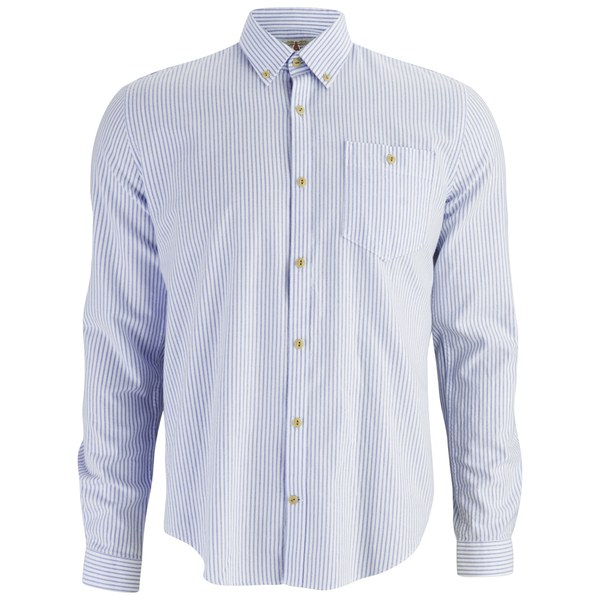 Barbour Men's Harry BD Oxford Shirt - Blue Stripe