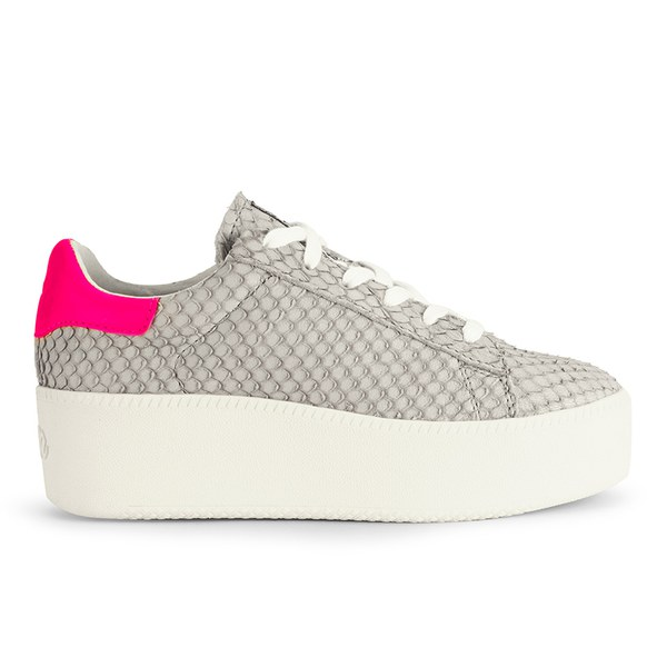 Ash Women's Cult Puff Flatform Trainers - Neon Marble