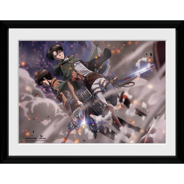 Attack on Titan Smoke Blast - 16x12 Framed Photographic